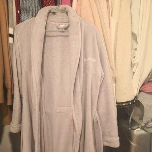 Calvin Klein CK fuzzy bathrobe sleepwear